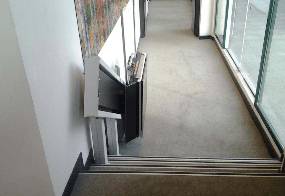plataforma salvaescaleras
