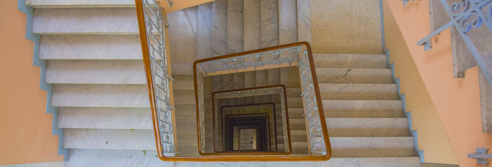 hueco escaleras