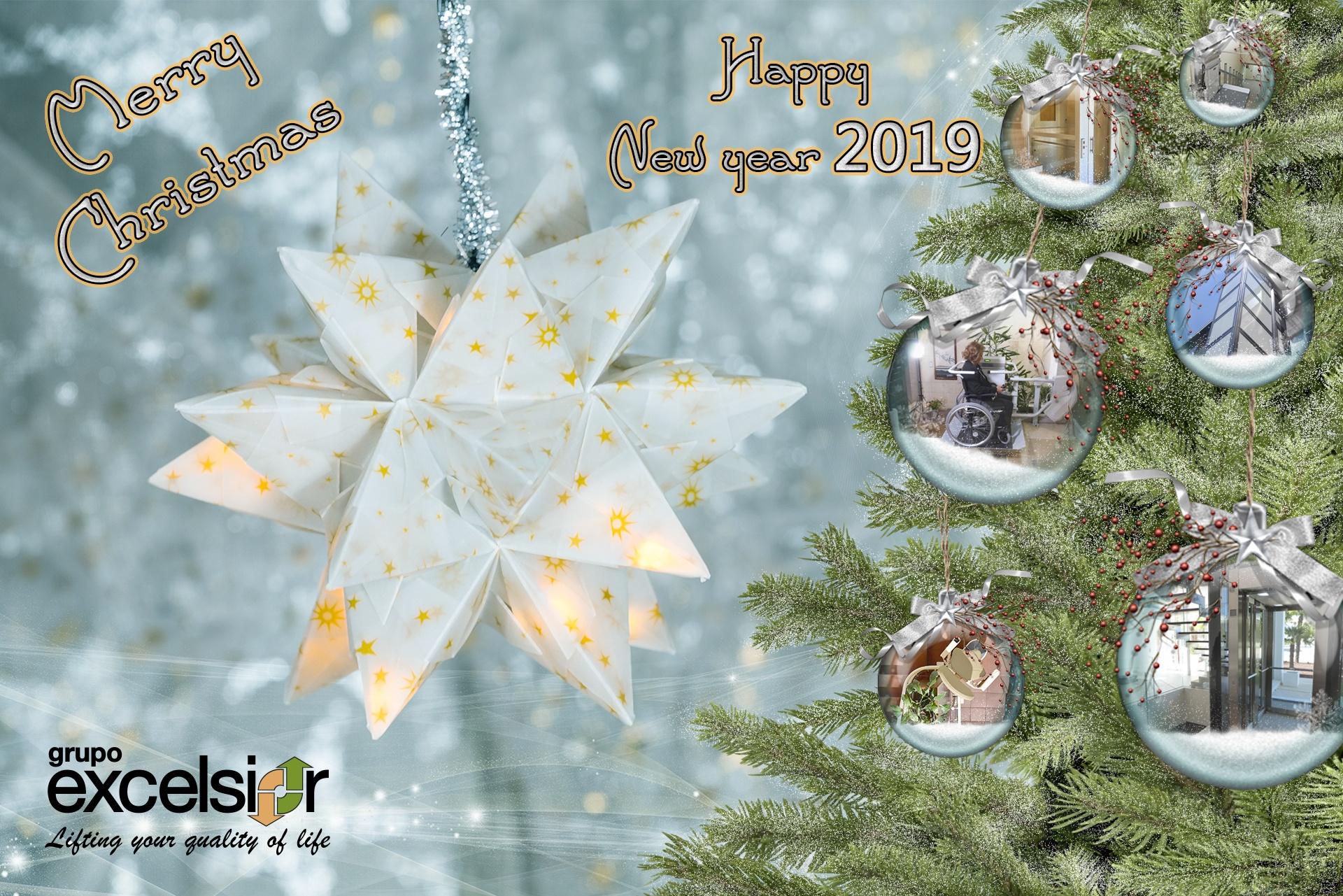 Photos De Joyeux Noel 2019.Joyeux Noel Et Bonne Annee 2019 Grupo Excelsior