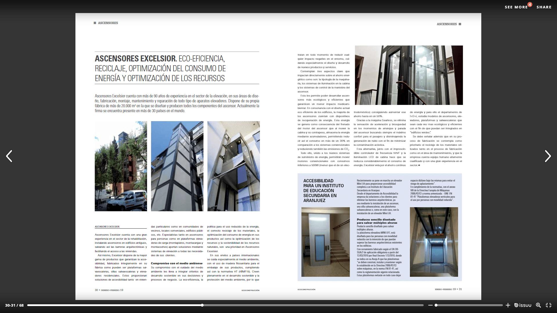 Publicación Revista Ecoconstrucción