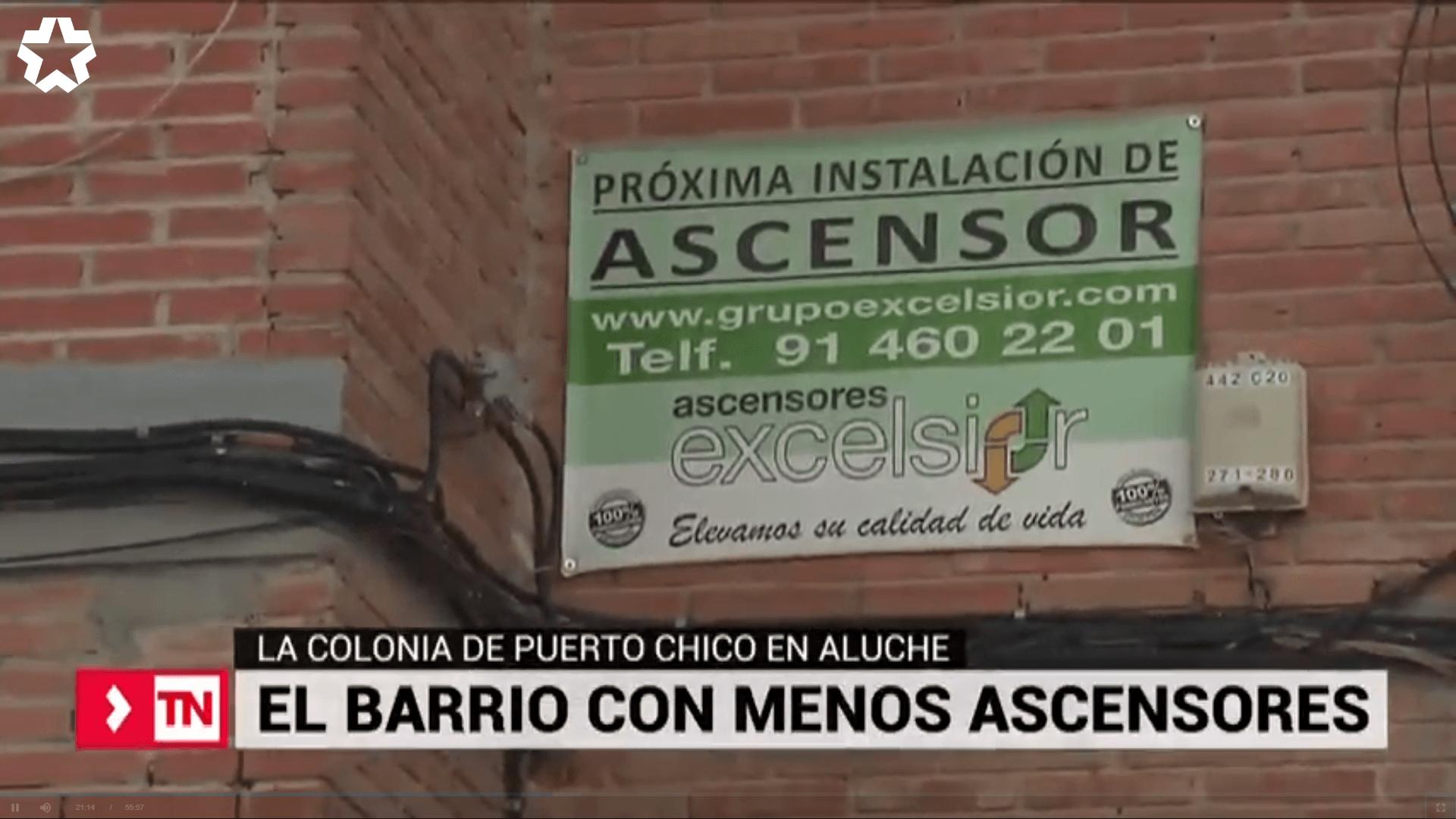 Los barrios de Madrid con menos ascensores